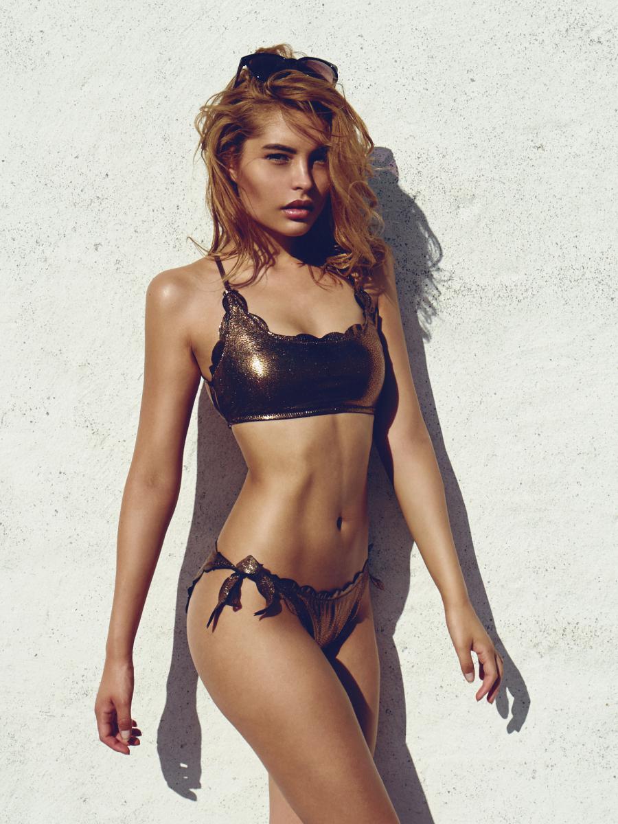Ocean Bikini Top Bronze